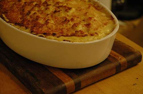 Curry Cauliflower Gratin