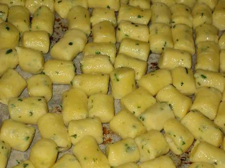 Cooked Gnocci